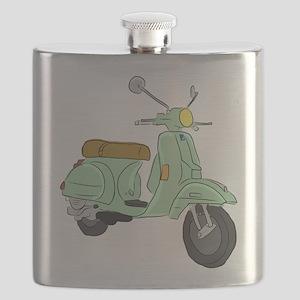 Vespa PX Sketch Flask