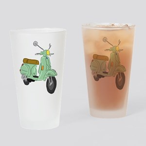 Vespa PX Sketch Drinking Glass