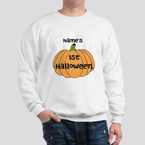 Custom 1st Halloween Sweatshirt