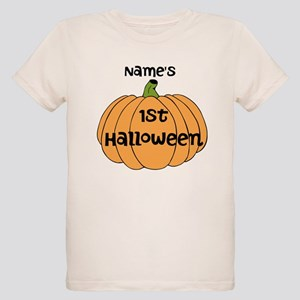 Custom 1st Halloween Organic Kids T-Shirt
