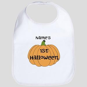 Custom 1st Halloween Bib