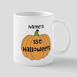 Custom 1st Halloween Mug