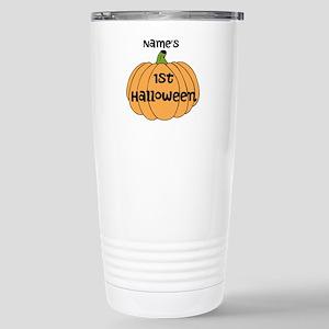 Custom 1st Halloween Stainless Steel Travel Mug