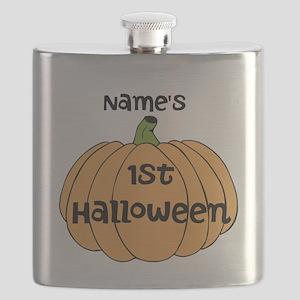 Custom 1st Halloween Flask