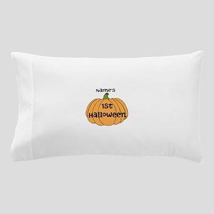 Custom 1st Halloween Pillow Case