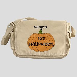 Custom 1st Halloween Messenger Bag