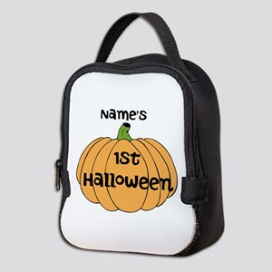 Custom 1st Halloween Neoprene Lunch Bag