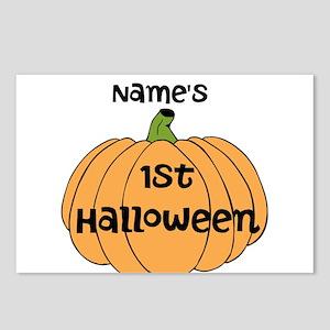 Custom 1st Halloween Postcards (Package of 8)