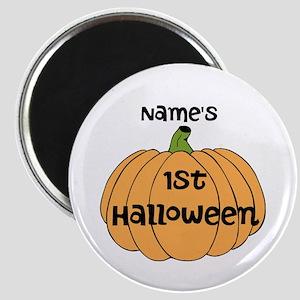 Custom 1st Halloween Magnet