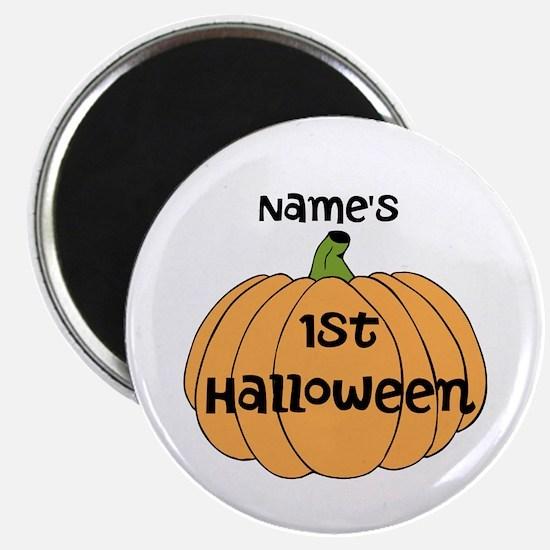 """Custom 1st Halloween 2.25"""" Magnet (100 pack)"""