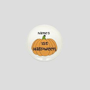 Custom 1st Halloween Mini Button