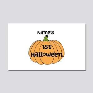 Custom 1st Halloween Car Magnet 20 x 12