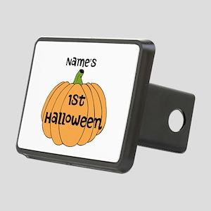Custom 1st Halloween Rectangular Hitch Cover