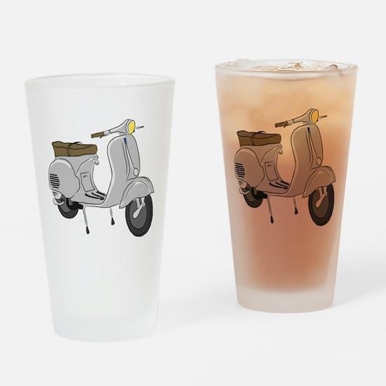 Vespa GS Sketch Drinking Glass