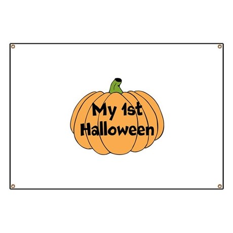 my 1st halloween banner