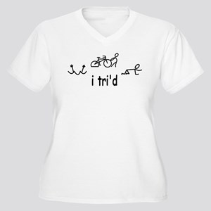 i trid Plus Size T-Shirt