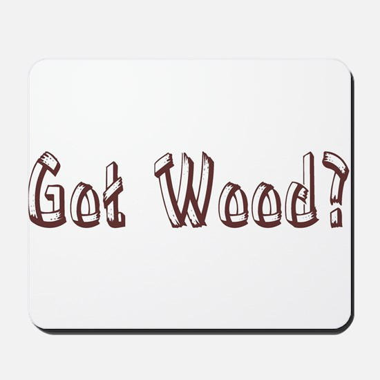 Got Wood? Mousepad