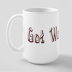 Got Wood? Large Mug