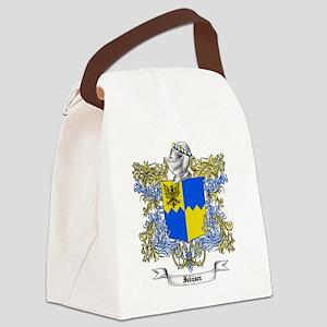 Johnson Family Crest 2 Canvas Lunch Bag