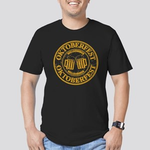 Oktoberfest Seal Men's Fitted T-Shirt (dark)