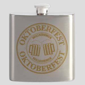 Oktoberfest Seal Flask