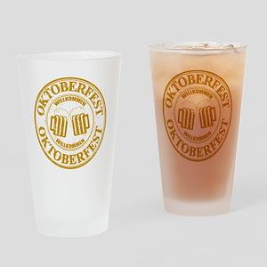 Oktoberfest Seal Drinking Glass