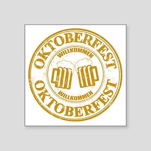 """Oktoberfest Seal Square Sticker 3"""" x 3"""""""
