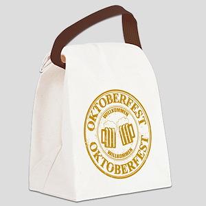 Oktoberfest Seal Canvas Lunch Bag