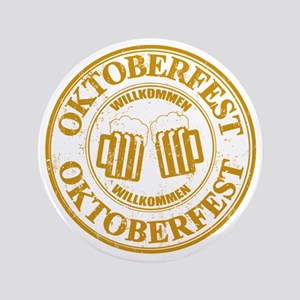 """Oktoberfest Seal 3.5"""" Button"""