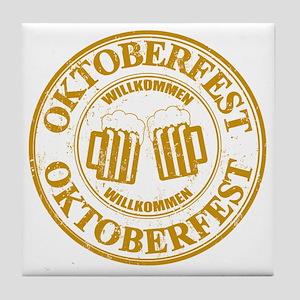 Oktoberfest Seal Tile Coaster