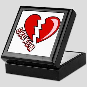 Broken Hearted Anti-Valentine Keepsake Box
