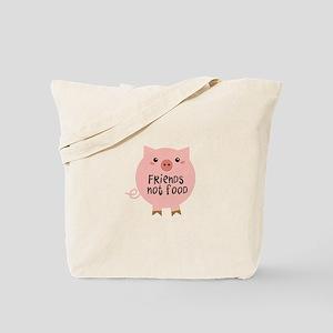 friends not food Tote Bag