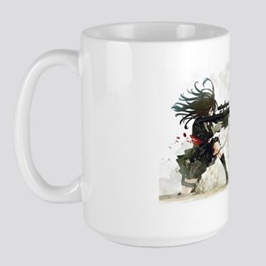 Anime Sniper Girl Large Mug