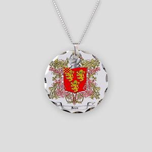 Jones Family Crest 1 Necklace Circle Charm