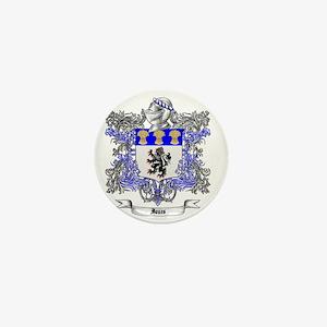 Jones Family Crest 2 Mini Button