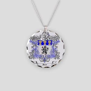 Jones Family Crest 2 Necklace Circle Charm