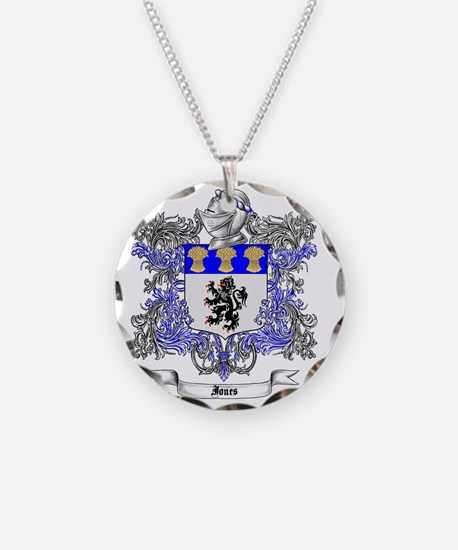 Jones Family Crest 2 Necklace