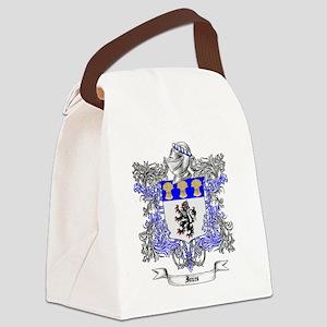 Jones Family Crest 2 Canvas Lunch Bag