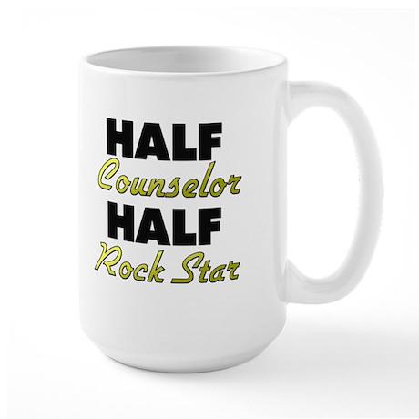Half Counselor Half Rock Star Mugs