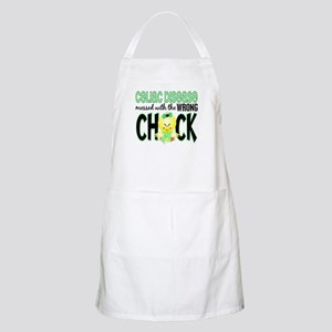 Celiac Disease Messed With Wrong Chick Apron