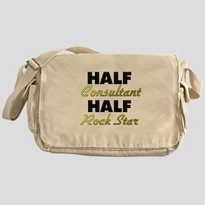 Half Consultant Half Rock Star Messenger Bag