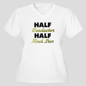 Half Conductor Half Rock Star Plus Size T-Shirt