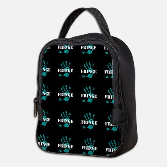 Fringe Handprint Neoprene Lunch Bag