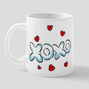 Hugs & Kisses XOXO Mug