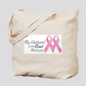 My Husband is the Best Medicine Tote Bag
