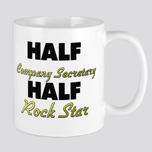 Half Company Secretary Half Rock Star Mugs