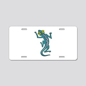 MOVING COLORS Aluminum License Plate