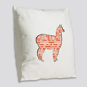PATTERNS TRUE Burlap Throw Pillow