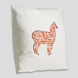 PATTERNS TRUE Burlap Throw Pillow