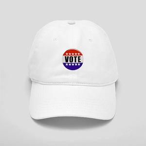 Vote Button Baseball Cap